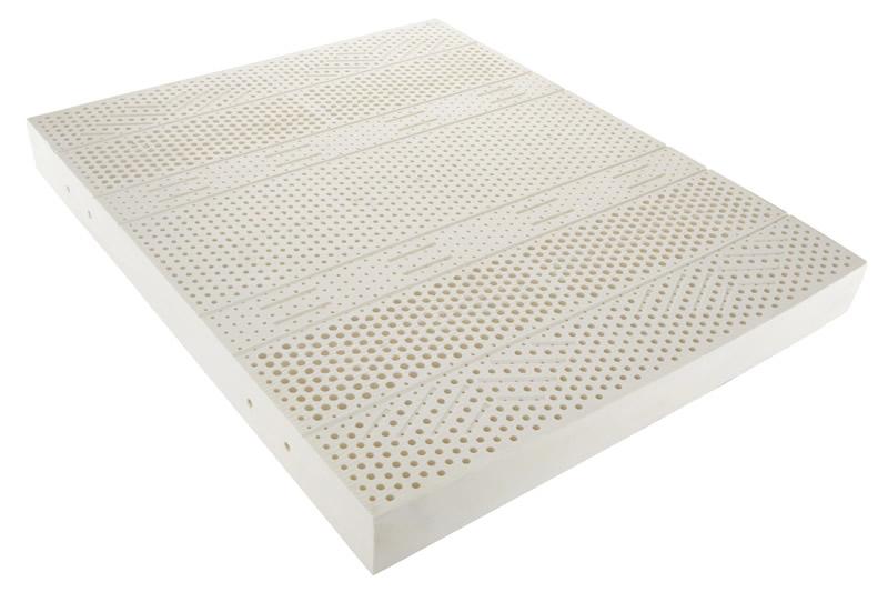 Materasso natural latex involucro silver bilflex snc - Materasso lattice letto contenitore ...